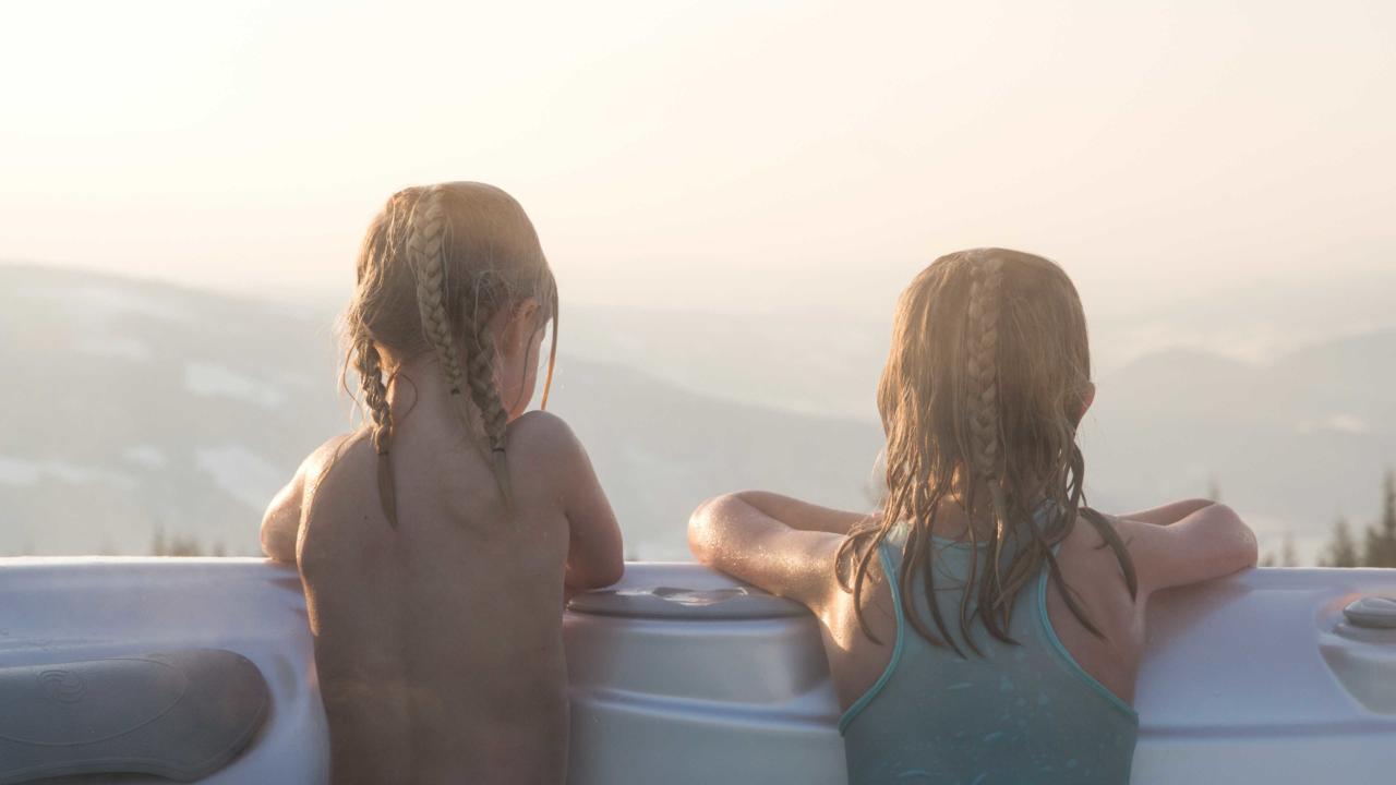 Badestamp til storhyttene på Mosetertoppen Panorama
